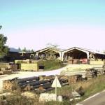hangar bois lamellé collé